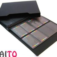 آلبوم کارت ویزیت پاپکو متالیک قابدار 384 عددی مدل CH-384-BC