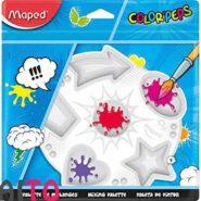 پالت رنگ مپد 6 خانه پلاستیکی سری کالر پپس کد 811410