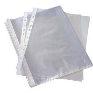 کاور کاغذ A5 نیک آور بسته 100 عددی مدل شفاف