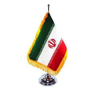 پرچم رومیزی فلزی شهاب تحریر مدل 7070