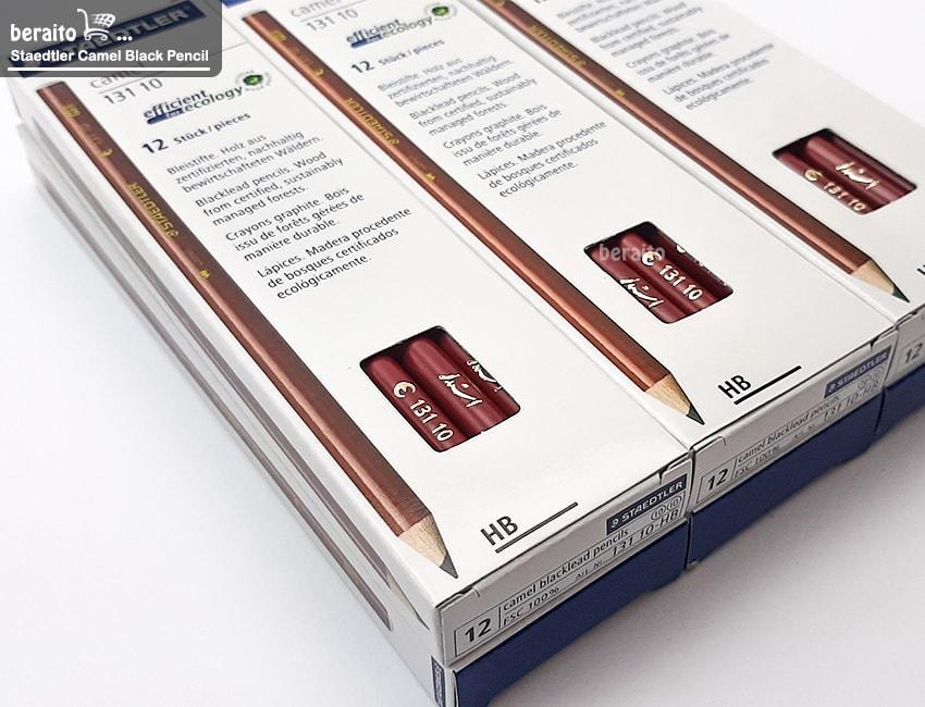 ویژگی های مداد مشکی استدلر کمل HB کد 10 131