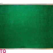تابلو اعلانات آلومینیومی بدون شیشه صدف سایز 40 × 20 سانتی متر