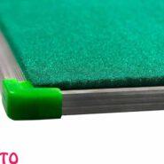 تابلو اعلانات بدون شیشه صدف سایز 240 × 120 سانتی متر