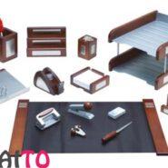 ست رومیزی چوب و فلز 15 تکه جهان نما مدل 324