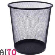 سطل زباله فلزی توری سایز بزرگ