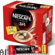 قهوه فوری کافی میکس نسکافه 3 در 1 بسته 24 عددی