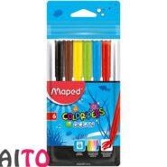 ماژیک رنگ آمیزی 6 رنگ مپد کالر پپس مدل Ocean Pulse کد 845723