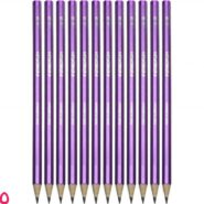 مداد استدلر مدل Wopex نئون 180 بدنه بنفش HB بسته 12 عددی