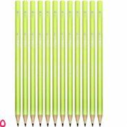 مداد سیاه استدلر وپکس نئون 180 بدنه زرد HB بسته 12 عددی