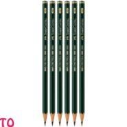مداد طراحی فابر کاستل HB مدل Castell 9000 کد 23119000 بسته 6 عددی