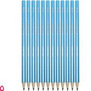 مداد مشکی استدلر وپکس نئون 180 بدنه آبی HB بسته 12 عددی