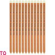 مداد پاستل سفید فابر کاستل PITT غیر چرب متوسط کد 23112201 بسته 12 عددی