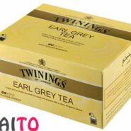چای کیسه ای ارل گری تویینیگز 50 عددی