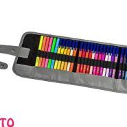 ماژیک استدلر 48 رنگ Triplus همراه با کیف زیپ دار کد 323RU48