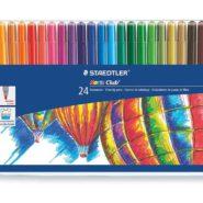 ماژیک رنگ آمیزی 24 رنگ استدلر