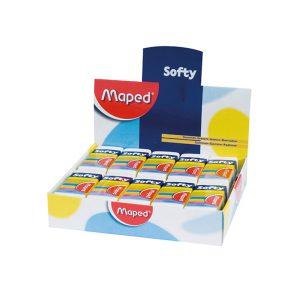 پاک کن Maped مدل Softy کد 511790 بسته 20 عددی