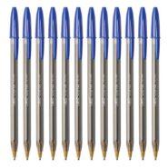 خودکار بیک با قطر نوشتاری 1.6 مدل کریستال لارج بسته 12 عددی