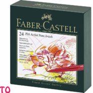 ماژیک پیت آرتیست فابر کاستل 24 رنگ سری Brush کد 23167147