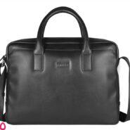 کیف دستی با جای لپ تاپ 14 اینچی مدل کراس چرم طبیعی کد AC241215B-1