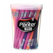 خودکار رنگی پنتر مدل SP-101 لیوان 50 عددی