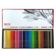 مداد رنگی 50 رنگ فکتیس جعبه فلزی