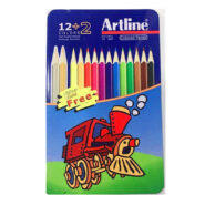 مداد رنگی آرت لاین 14 رنگ جعبه فلزی