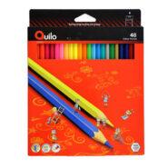 مداد رنگی کویلو 48 رنگ جعبه مقوایی 634014