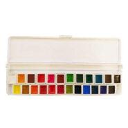 آبرنگ 24 رنگ آقامیری