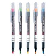 ماژیک هایلایت پنتل قلمی pentel مدل S512-5 بسته 5 رنگ